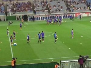 サッカー日本試合